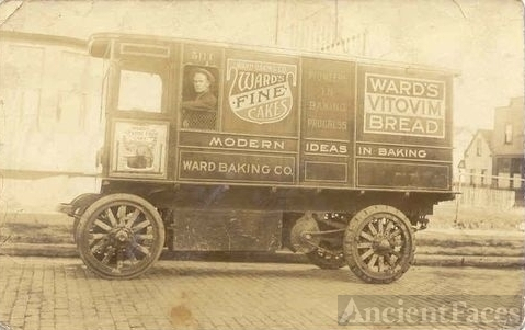 Ward Bakery Truck 1918