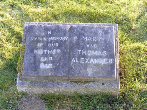 Mary (Kidd) & Thomas Alexander, Scotland