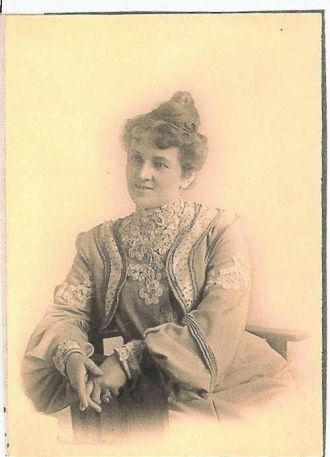 A photo of Mrs. Eustace (Florence N. Marley)  Brown