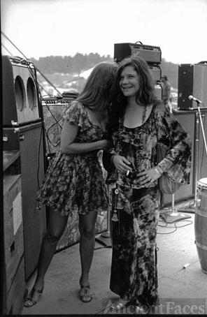Janis Joplin at Woodstock, 1969