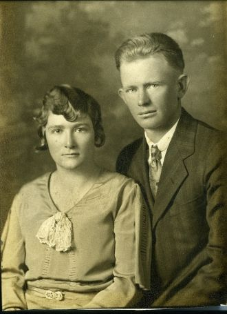 Georgiana nee Applegate Nelsen and George Nelson