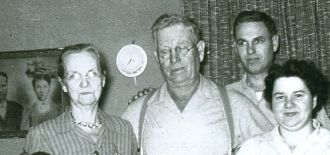 Sarah, Greene, William, & Doris Conley