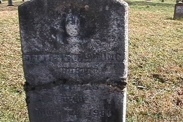 Elizabeth P.(Betty)Fletcher Manning grave site