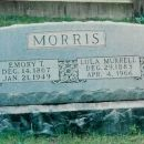 Emory and Murrell Morris headstone