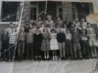 1959 Paint Rock School, Tennessee