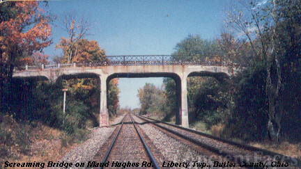 Maud Hughes Road bridge in Ohio