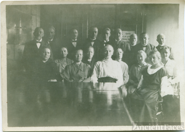 Lutheran Church Members, c1900 Sweden