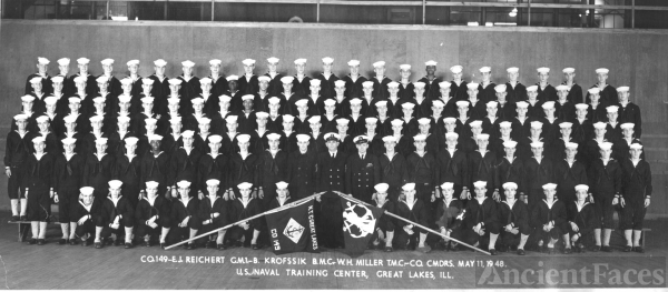 Great Lakes Ill. US Naval Training Center May 11 1948