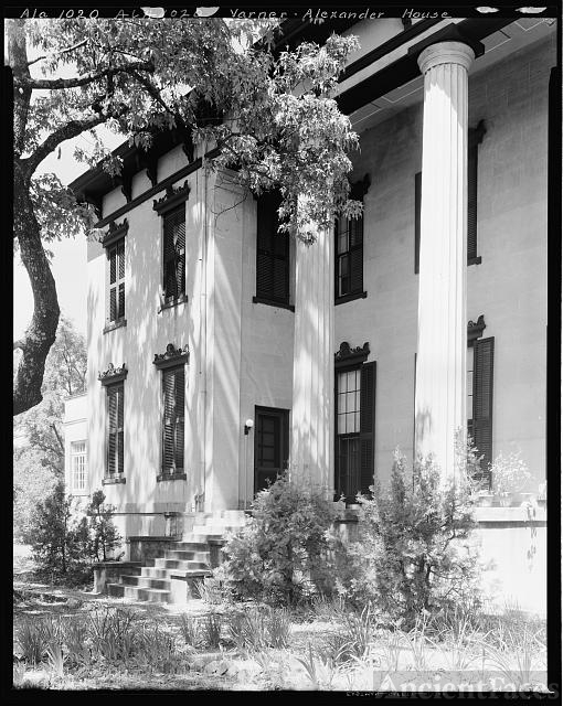 Varner-Alexander House, Tuskegee, Macon County, Alabama