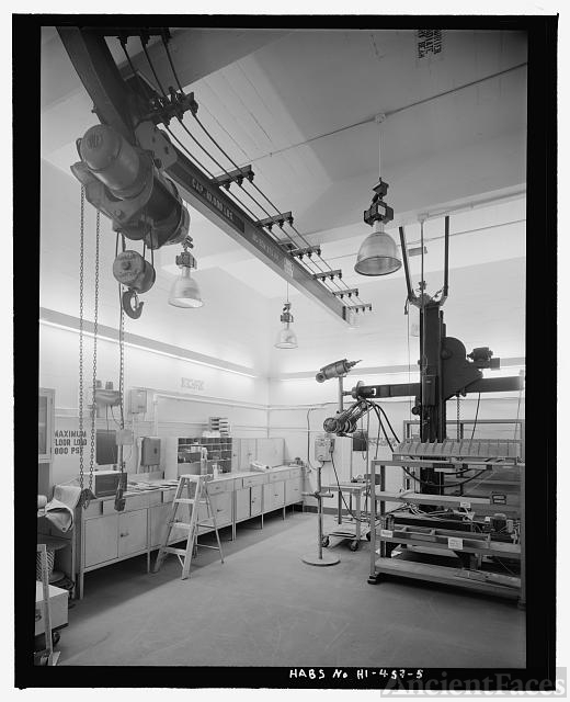 Interior of small x ray room with crane and floor mounted for X ray room floor plan