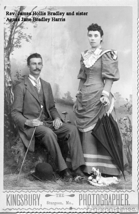 Rev. James Hollis Bradley & Agnes Jane Bradley