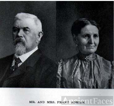 Mr. and Mrs. Franz Adrian