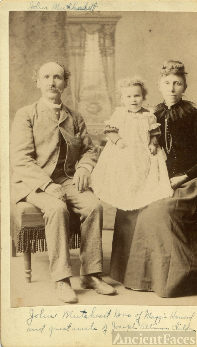 John Mutart and Family, Kansas