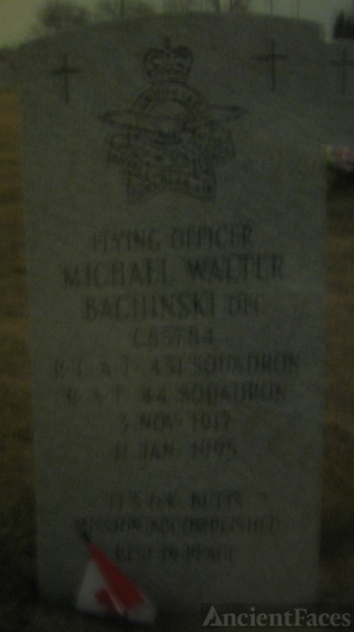 Walter Michael Bachinski Headstone