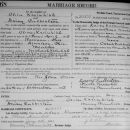 Oliver Kreinbihl marriage record