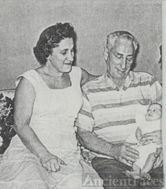 1957 Ruth Becker Esposito and her father Louis Becker