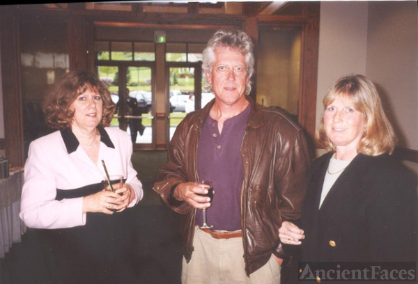 Rod Ferguson, Kathy Pinna, and Pam Kroetsch Marks