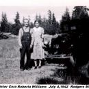 Clarence Davis & Cora (Davis) Williams, Oregon