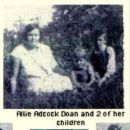 Allie Adcock Doan and 2 children
