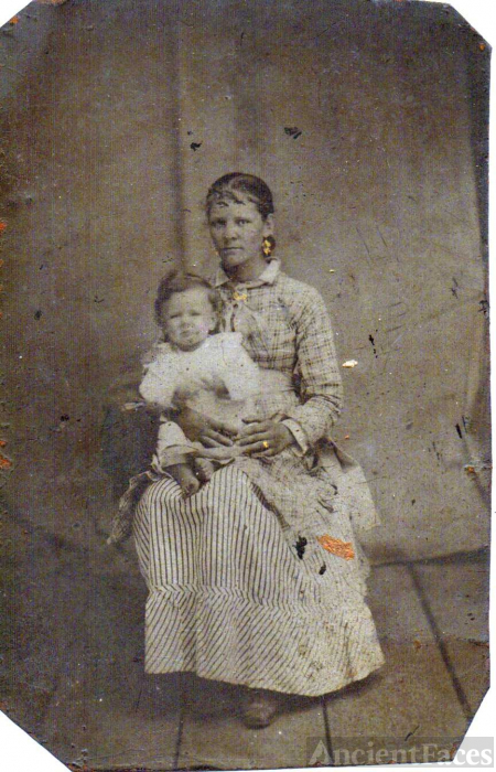 Unknown mother & child, Florida?