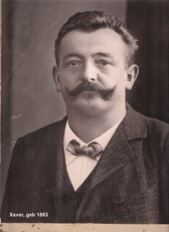 A photo of Xaver Franz Doerrer