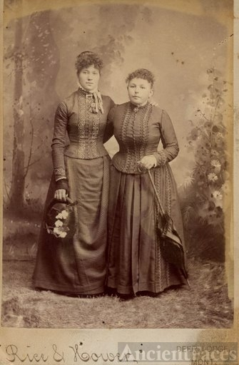 Annie Munker & Sister in law, Montana
