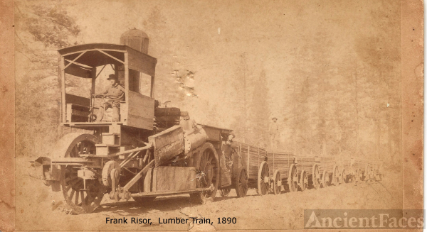 California lumber train