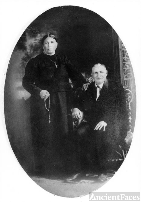 Christian and Martina (Hagel) Ziegler, KS 1905