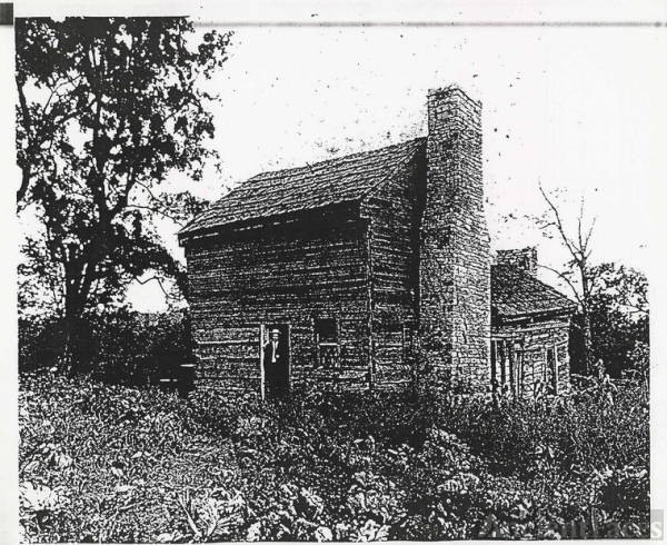 The Sheeks House In Its Original Location