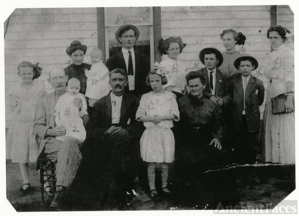 John and Mary Binkley family
