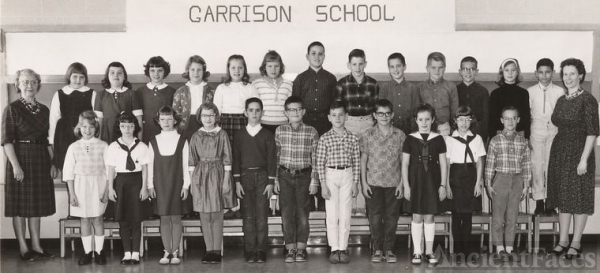 Garrison School 1964-65, Gr 4/5, named