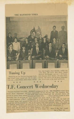 T.F.North Dance Band 1960