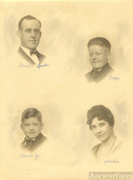 Charles Reed Sparks family