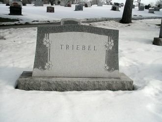 William Franklin Triebel gravesite