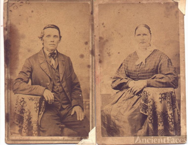 John and Catharine Myers Brumfiel - Fayette County Indiana