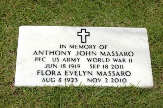Flora & Anthony Massaro gravesite