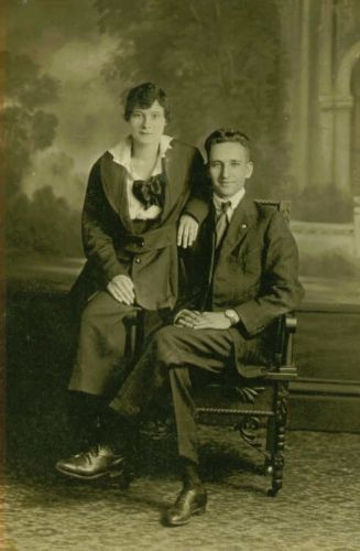 Mae (Webster)  & William Isaac McClurg