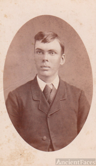 Ole Marcus Ulvestad, young man