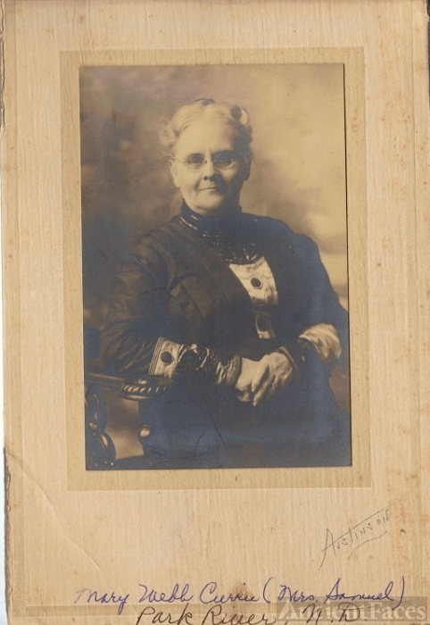 Mary Webb Currie, ND 1880
