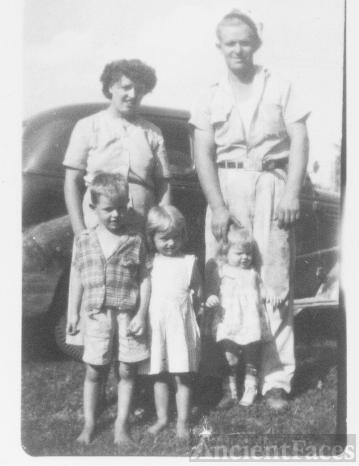 R.C. and Louise Parsley and 3 of their children