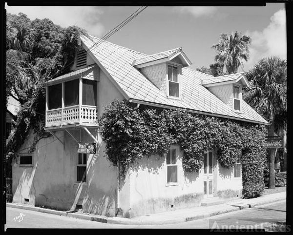 Prince Murat House, St. Augustine, St. Johns County, Florida