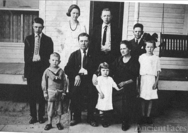Harry T. Bridges Family