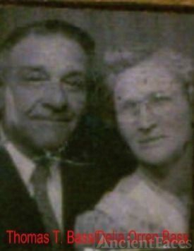 Thomas T. Bass and wife Delia H. Orren Bass