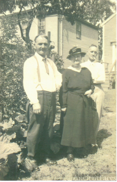 Patrick, Mary and Frank Broughton