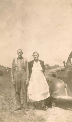 Charlie & Dollie (Smith) Gourley, TN 1940's