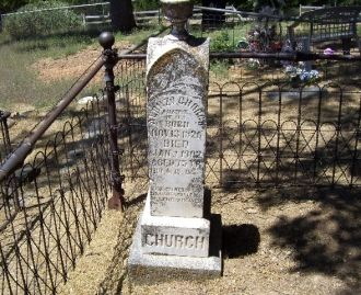 Alonzo Church Headstone