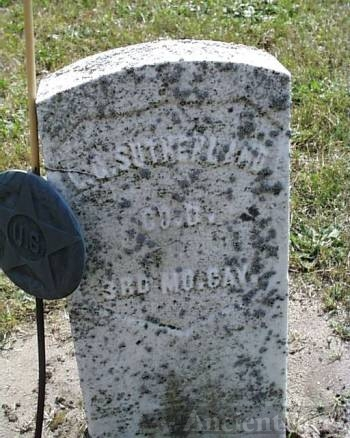 Sutherland Tombstone