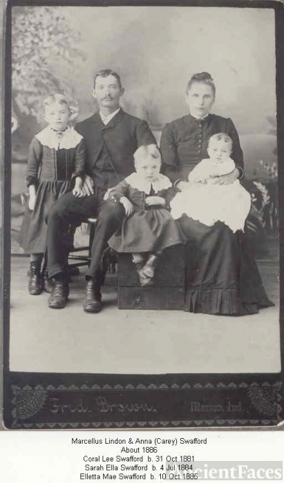 Marcellus Lindon Swafford Family