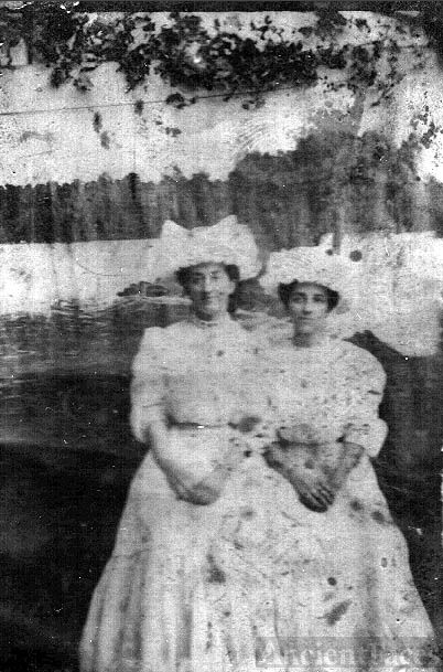 Jeannette and Emma Bickel, North Dakota