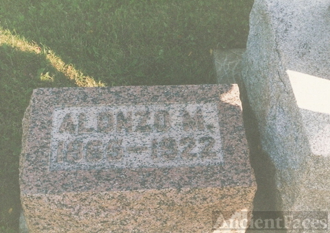 Alonzo Brickley gravestone